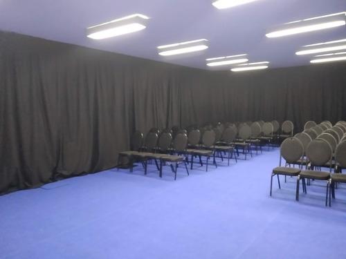 telones telón cortina portátil para eventos alquiler venta