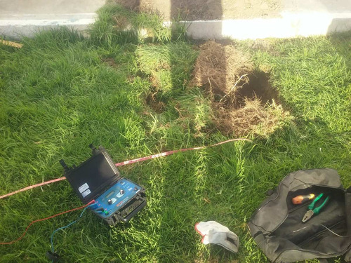 telurometro megometro puesta a tierra electricidad indeci