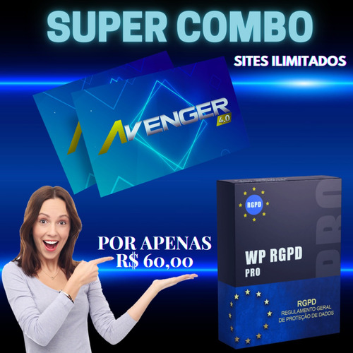 tema avenger wordpress, plugin rgpd - super combo