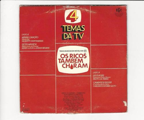 tema da novela os ricos também choram - 1982 - ep 77