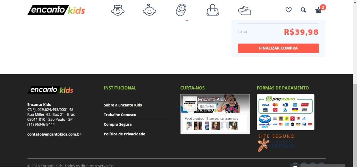 Tema Para Sites De Loja Infantil, Kids Wordpress Português - R$ 23 ...
