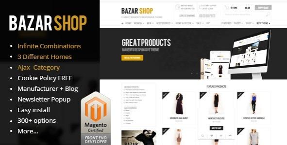 Tema Wordpress- Basar Shop Premium (tiendas Online) - $ 25.000 en ...