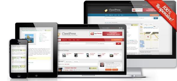 Tema Wordpress Classipress Criar Site De Anuncios Portugues - R$ 9 ...