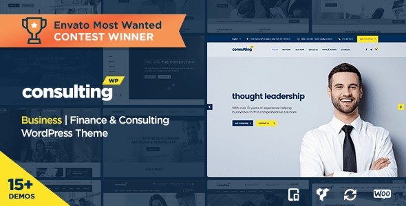 Tema Wordpress Consulting (negocios Y Finanzas) - $ 16.000 en ...