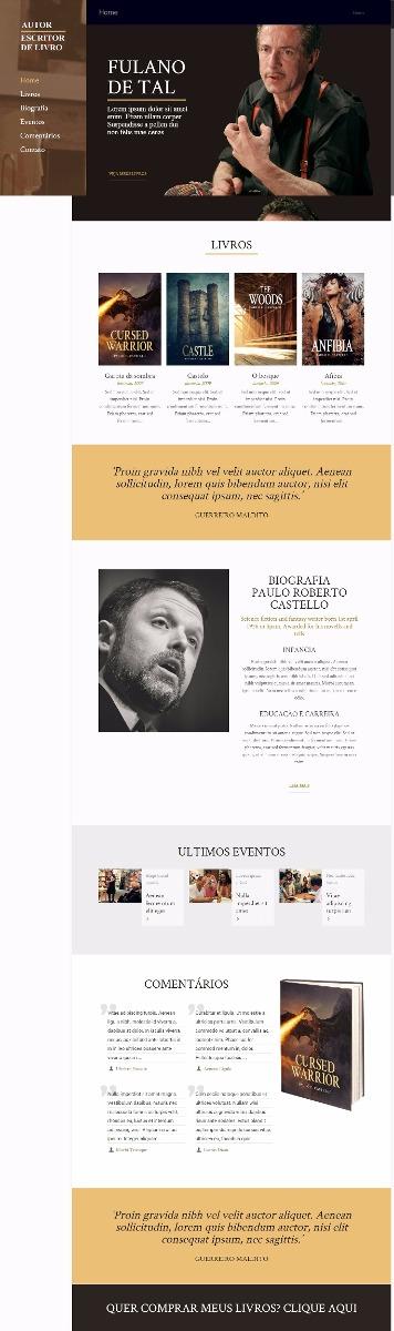 Increíble Escritor Del Tema Wordpress Patrón - Colección De ...