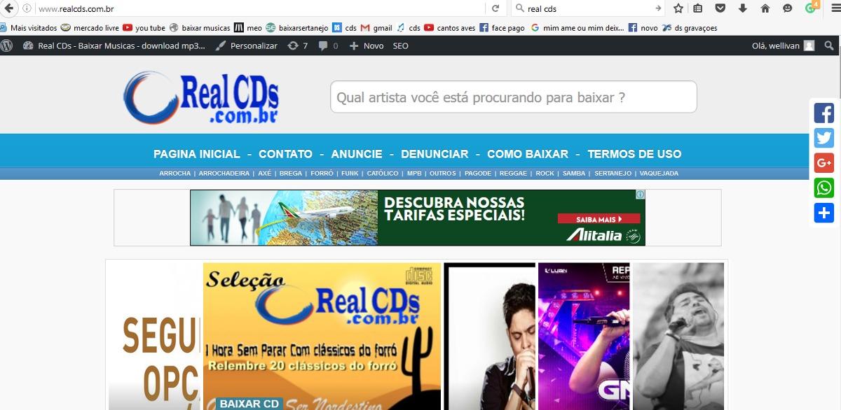 Tema Wordpress Para Site De Baixar Musicas E Cd Completo - R$ 299,99 ...
