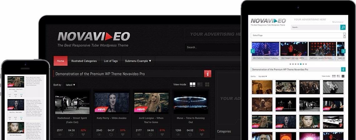 Tema Wordpress Para Sites De Vídeos Online - R$ 15,00 em Mercado Livre