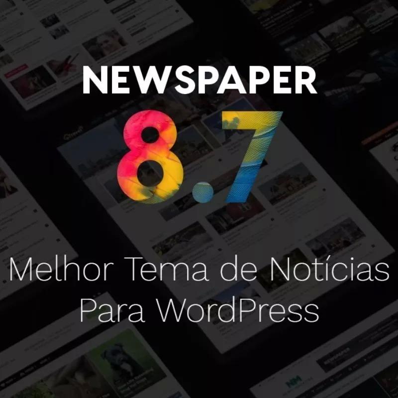 Tema Wordpress Portal De Notícias Newspaper Original - R$ 20,00 em ...