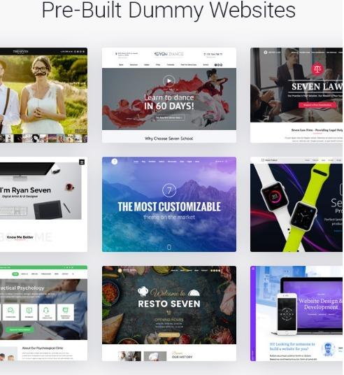 Tema Wordpress The7 | Mais Personalizável No Mercado - R$ 37,99 em ...