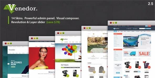 Tema Wordpress Venedor - Wordpress + Tema Woocommerce - R$ 49,90 em ...