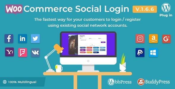 Tema Wordpress Woocommerce Social Login - Wordpress Plugin - R$ 49 ...