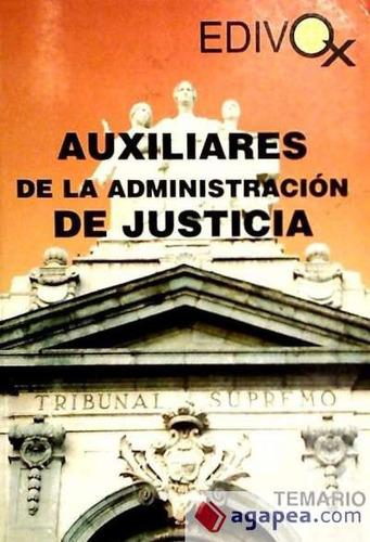 temario de auxiliares de la administraci¿n de justicia(libro