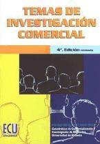 temas de investigaci¿n comercial ¿(libro )