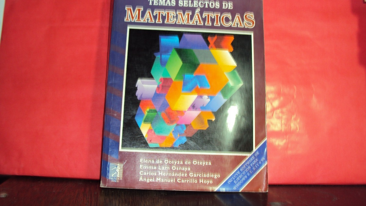 temas selectos de matematicas oteyza
