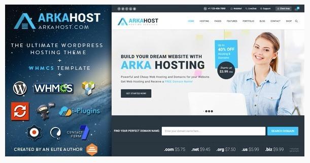 Temas Wordpress Premium   Arkahost + Whmcs V7.4 - Bs. 50.000.000,00 ...