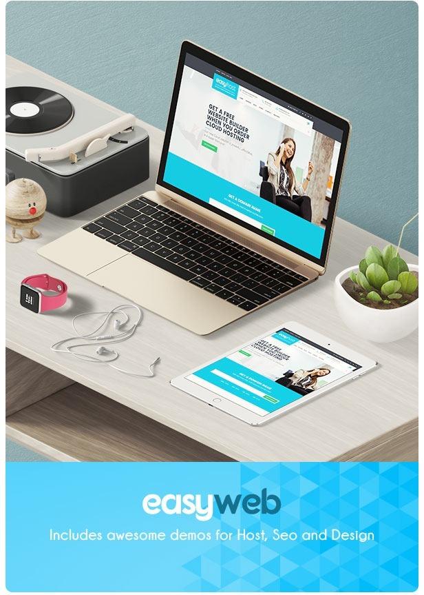 Temas Wordpress Premium | Easyweb Hosting, Seo Y Web-design - Bs. 80 ...
