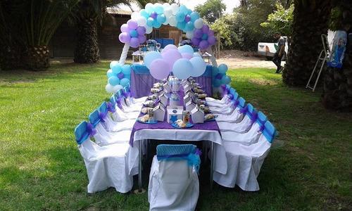 tematicas cumpleaños decoracion , juegos inflables , spa