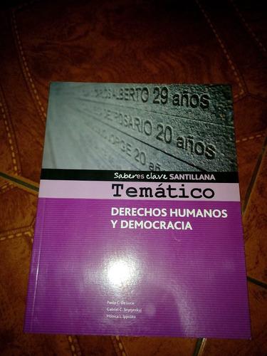 tematico derechos humanos y democracia saberes clave(cod036)