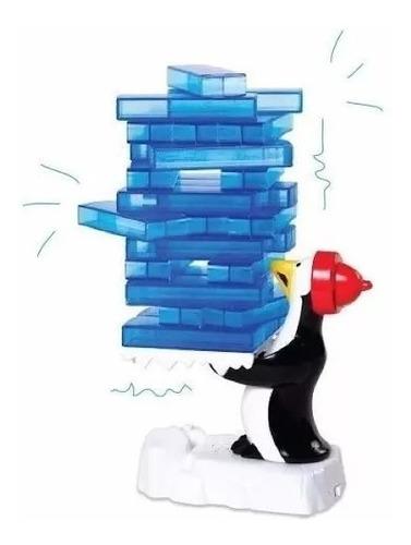 tembleque de hielo pinguino juego con sonido y movimiento
