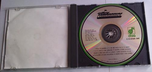 temerarios creo que voy a llorar revelacion romantica  cd