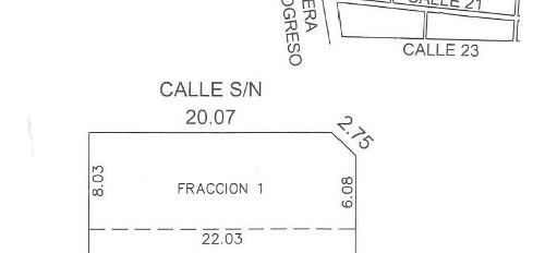temozon norte terreno 174.74 m2 en esquina