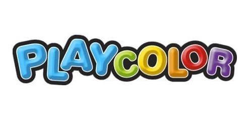 tempera escolar playcolor 300 grs colores varios por 10 u