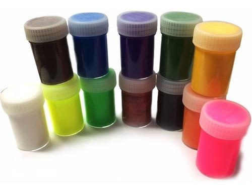 témpera súper lavable artel 12 colores 15ml unidad