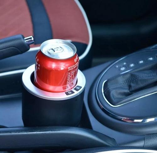temperador de bebidas -auto  enfría y calienta