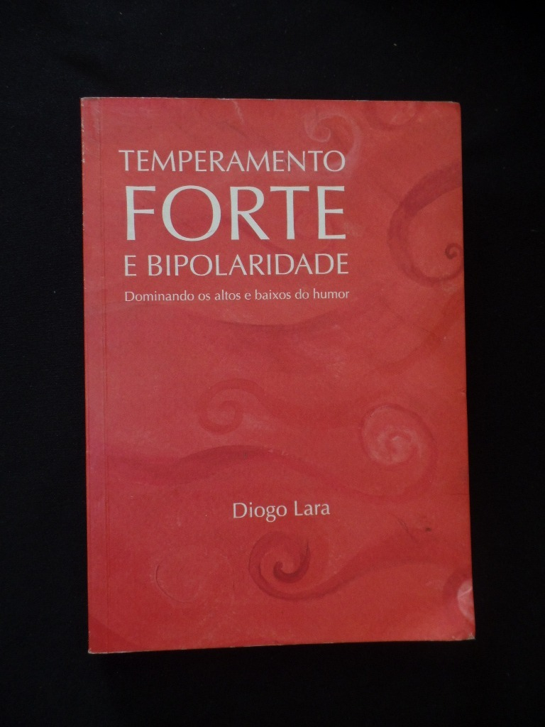 livro temperamento forte bipolaridade