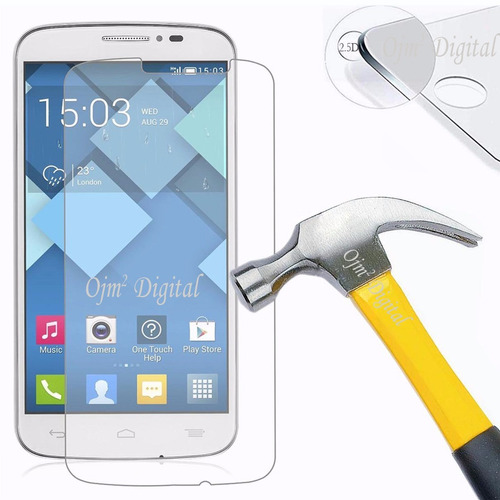 tempered glass para alcatel one touch pop c7