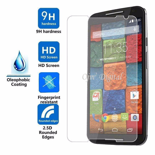 tempered glass para motorola x2