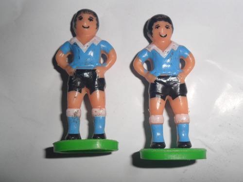 temperley el celeste  futbol miniatura jugador