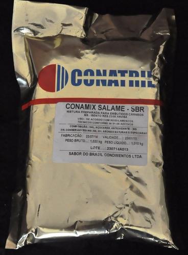 tempero para salame conamix salame - sbr 1kg