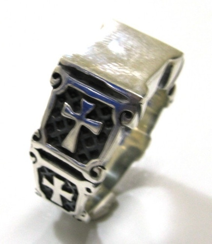 templario prata anel