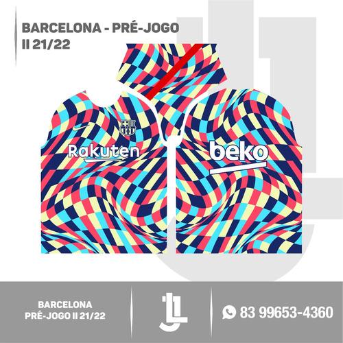 template barcelona pré-jogo ii 21/22