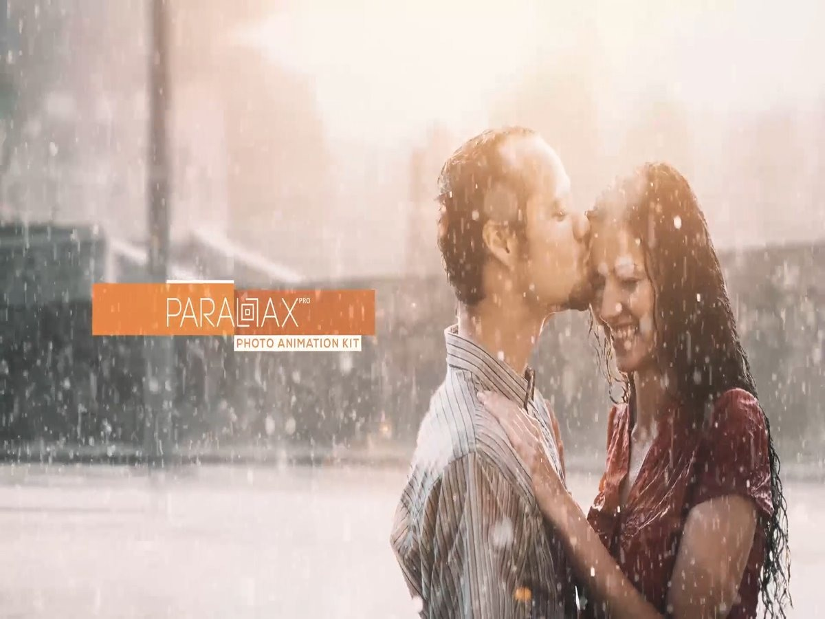 Template Editável After Effects Parallax Pro Photo Animation