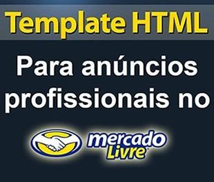 template editavel html p anuncio mercado livre profissional