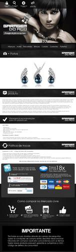 template html mercado livre anúncio personalizado