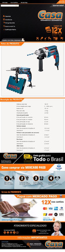 template html para anuncio mercado livre venda mercadolivre