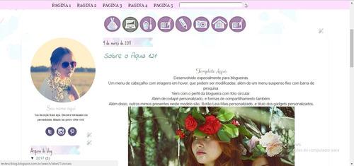 template para blogger - tema para blogger