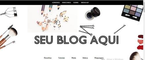 template para blogger- tema para blogueira