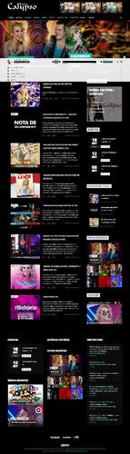 template responsivo site wordpress para bandas djs e musicos