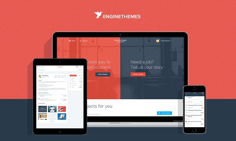 Template Tema Wordpress Freelanceengine V1.8.7 + Extensões - R$ 67 ...