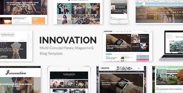 Template Tema Wordpress Premium Innovation - Bs. 1.500,00 en Mercado ...
