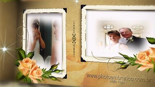 template wedding after effects para álbum casamento (dvd2)