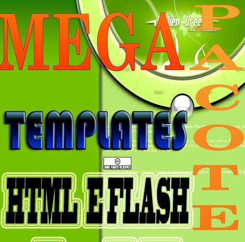 templates sites html flash   pacotão