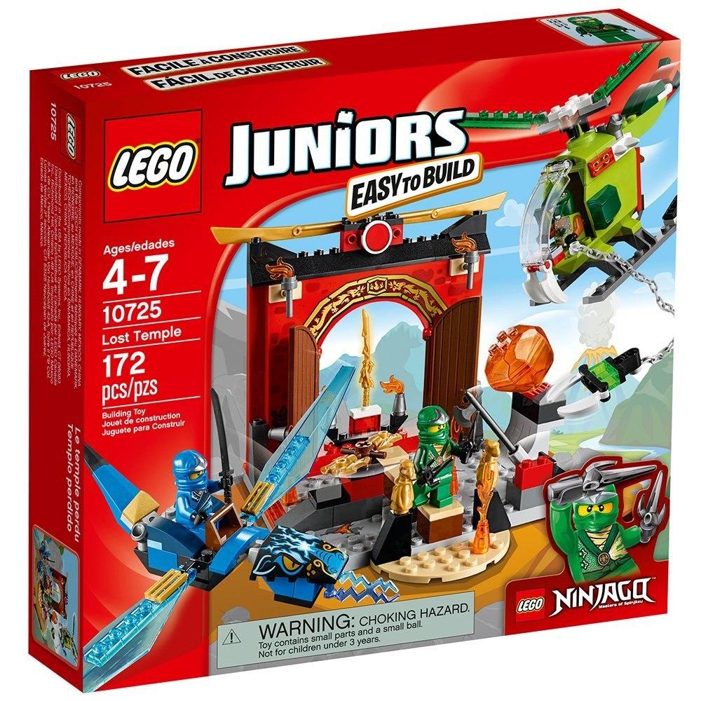 Lego Juniors Años De Juguete 4 Templo Perdido 10725 Edad LSpUqzMVG