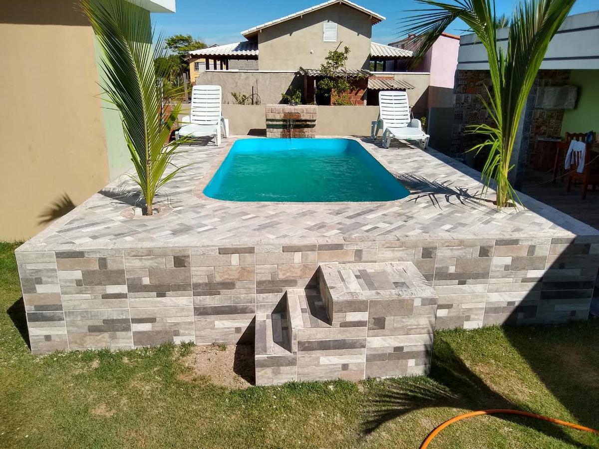 temporada casa com piscina em condomínio em arraial do cabo