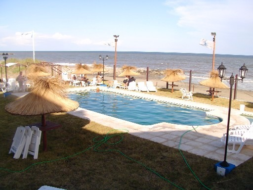temporada verano hotel mar chiquita sobre el mar c/piscina