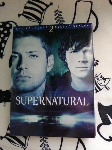 temporadas supernatural 1 - 7